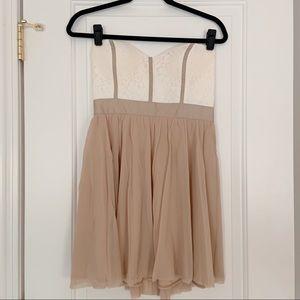 ASOS Strapless Padded Mini Dress